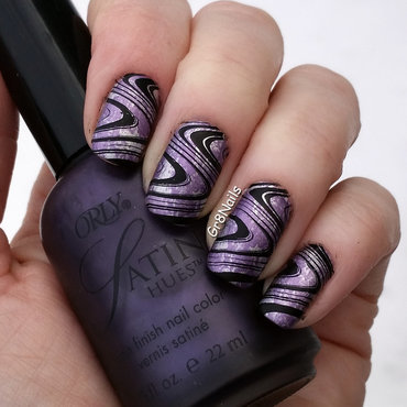 Purple Haze  nail art by Gr8Nails