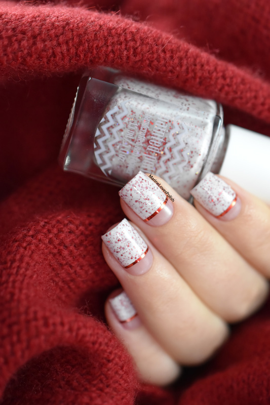 Red as Cherry Pie nail art by Marine Loves Polish