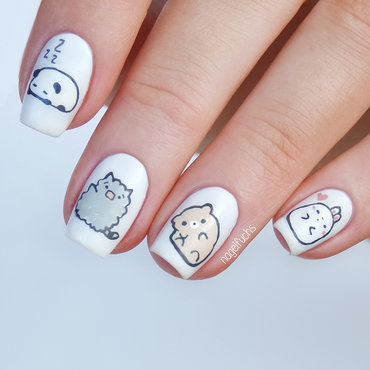 Cute Animals nail art by nagelfuchs