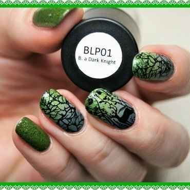 IN THE FOREST nail art by ELIZA OK-W