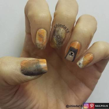 Groundhog Decision Day nail art by chleda15