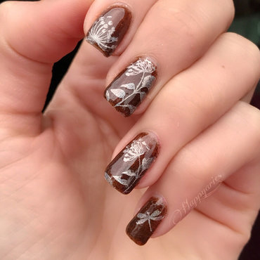 Holo stamping  nail art by Happy_aries