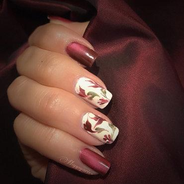 Drag Marble nail design  nail art by Happy_aries
