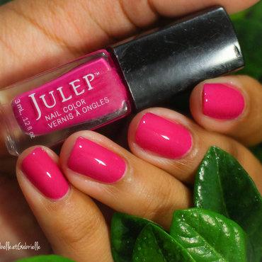 """Maddie"" by Julep! nail art by Gabrielle"