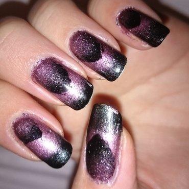 Gradient, gradient  nail art by Sabina Salomonsson