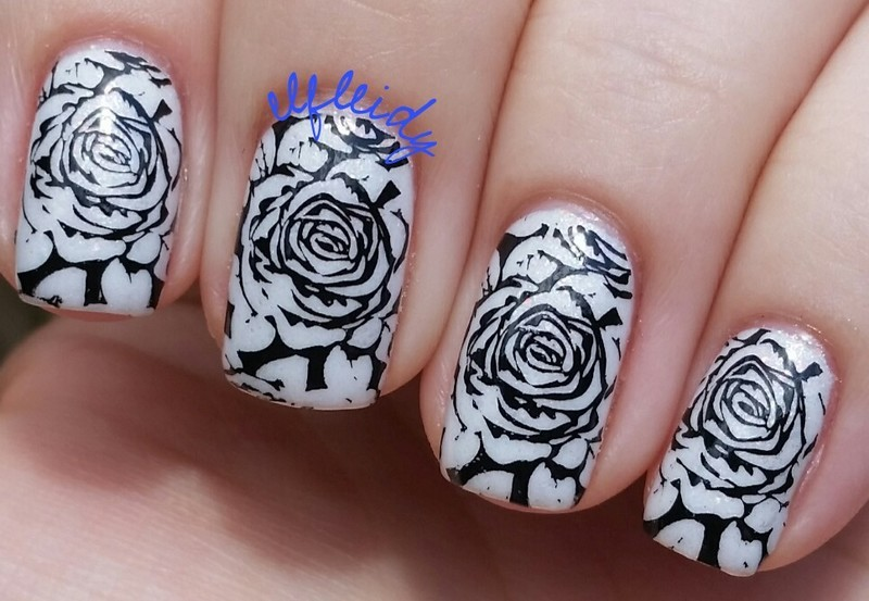 #26GreatNailArtIdeas 02-03-2017 nail art by Jenette Maitland-Tomblin
