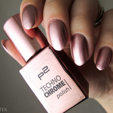 P2 Techno Chrome 030 bronze cut Swatch by Yenotek