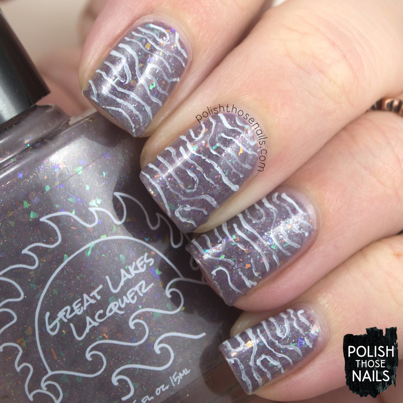 Chill Flakies! Right Here And Now nail art by Marisa  Cavanaugh