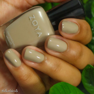 """Noah"" by Zoya  nail art by Gabrielle"