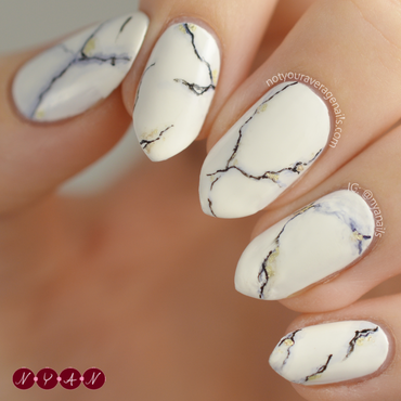 Marble Slab nail art by Becca (nyanails)