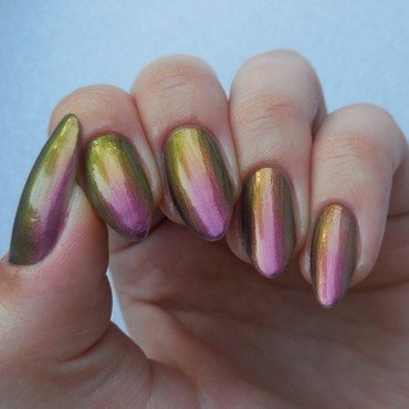 Born Pretty Holo Polish Swatch by Werterownia