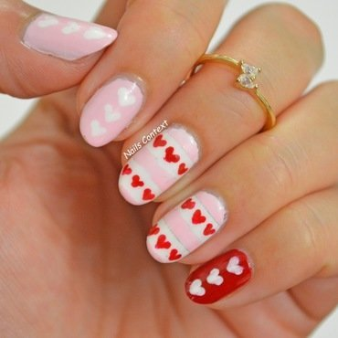 Vday hearts nails 1 thumb370f