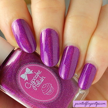 Cupcake Polish Berry Good Looking Swatch by Kerry_Fingertips