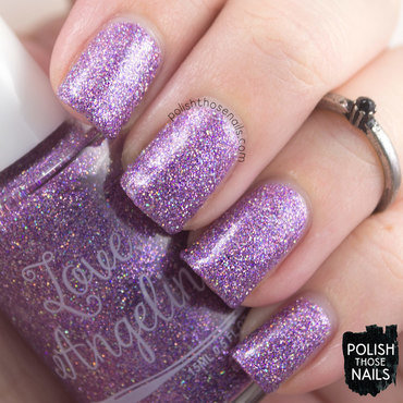 Love, Angeline Anniversary Bling Swatch by Marisa  Cavanaugh