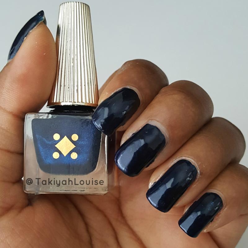 Deco Miami Brickell Blue Swatch by TakiyahLouise