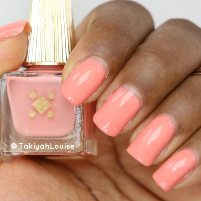 Deco Miami Rosé All Day Swatch by TakiyahLouise