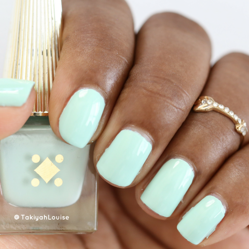 Deco Miami Petite Palm Swatch by TakiyahLouise
