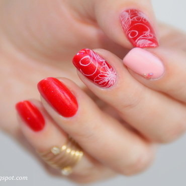 Only My Heart Talkin nail art by 74ines
