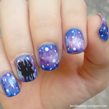 La La Land Nails nail art by Jessi Brownie (Jessi)