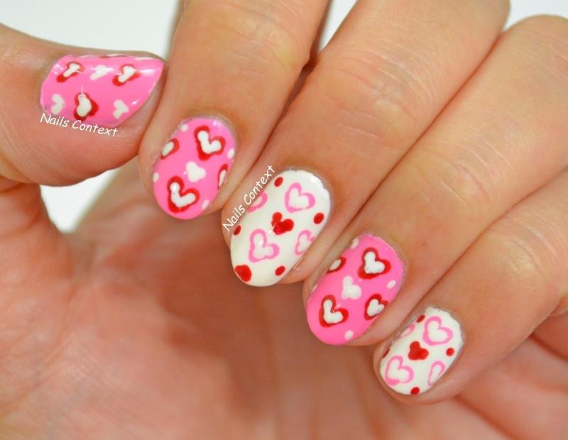 Valentines Cuteness  nail art by NailsContext