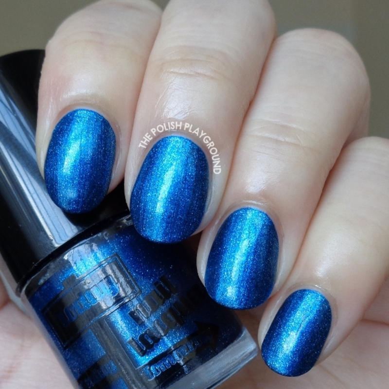 Dearberry 32 and Dearberry Today Nail Lacquer #32 Twilight Swatch by Lisa N