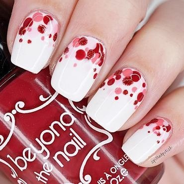 Valentine's Dotticure nail art by Maddy S