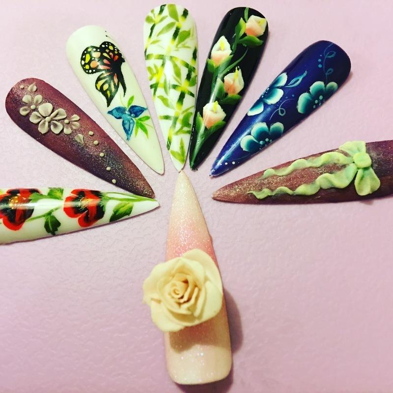 Nail art mix nail art by Ro Ags