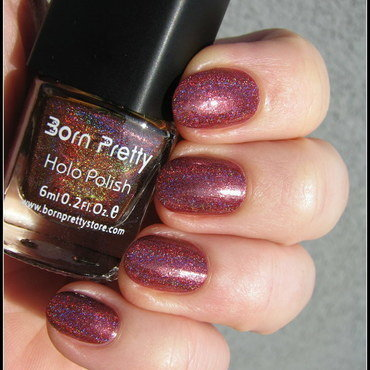 Born Pretty Holo 25 Swatch by Nail Crazinesss