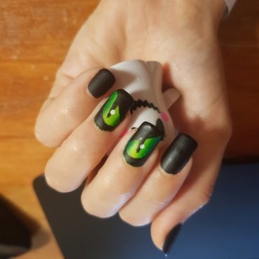 Eye See You nail art by Lxnne