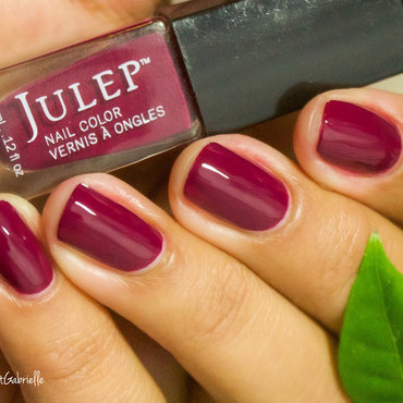"Swatch of Julep's ""DeAnne"" nail art by Gabrielle"
