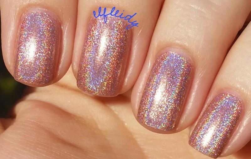 Colors by Llarowe 5 Rose Gold Rings Swatch by Jenette Maitland-Tomblin