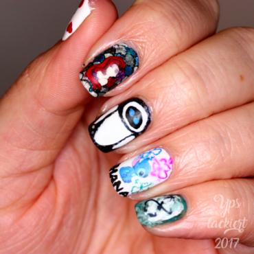 Disney Nails nail art by die Yps lackiert