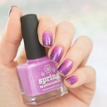 Glitter Gradient nail art by Sabrina