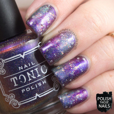 Galaxy glitter sparkle nail art 4 thumb370f