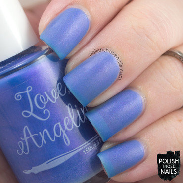 Love, Angeline Calm Waters Swatch by Marisa  Cavanaugh