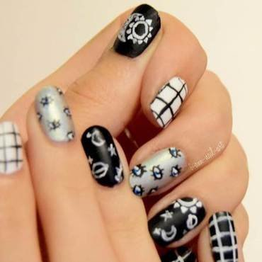 Tumblr inspired nail art by i-am-nail-art