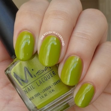 Misa Green with Envy Swatch by Lisa N