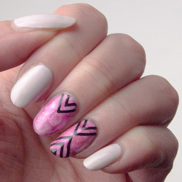 Friday Triad: Inspired by Pshiiit nail art by What's on my nails today?