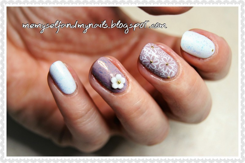 Spring's  coming nail art by ELIZA OK-W