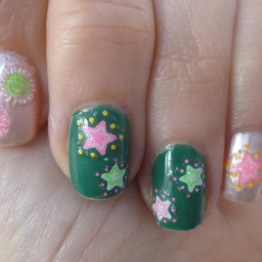 Funny Spring nail art by velinux
