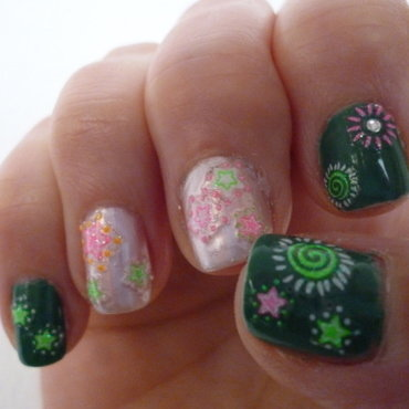 Funny Spring 2 nail art by velinux
