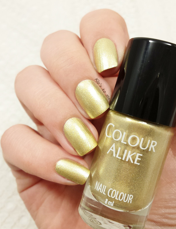 Colour Alike B. a Golden Queen Swatch by klo-s-to-me