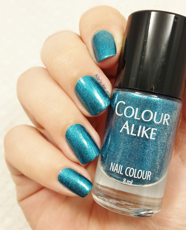 Colour Alike Dark Sea Swatch by klo-s-to-me