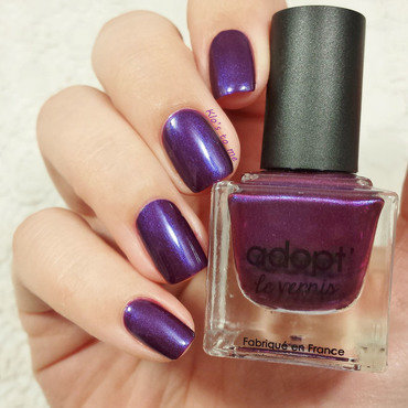 Adopt' Purple Addict Swatch by klo-s-to-me