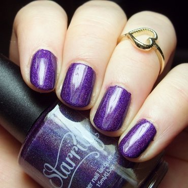 Starrily Ultraviolet Swatch by nailicious_1