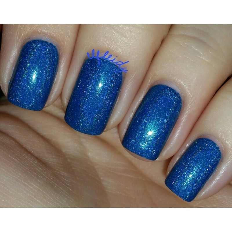 Cupcake Polish Pool it Together Swatch by Jenette Maitland-Tomblin