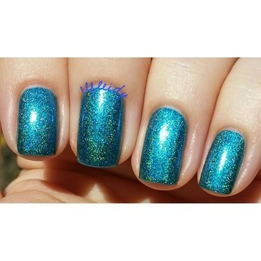 Cupcake Polish Be More Pacific Swatch by Jenette Maitland-Tomblin