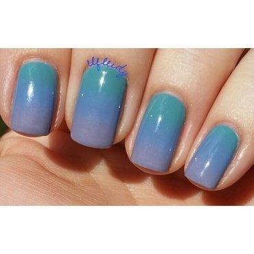 Soft gradient nail art by Jenette Maitland-Tomblin