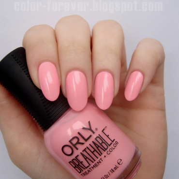 Orly Happy & Healthy Swatch by ania