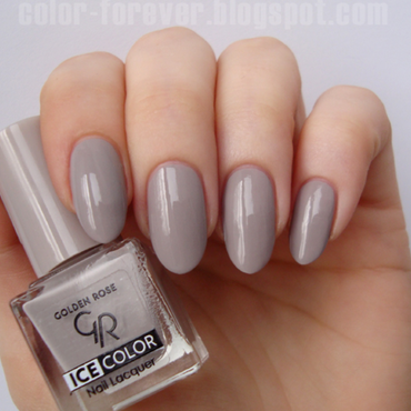 Golden Rose Ice Color 119 Swatch by ania